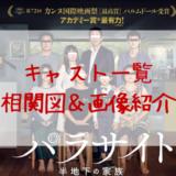 パラサイト韓国映画キャスト一覧の役名と相関図を画像付きで紹介