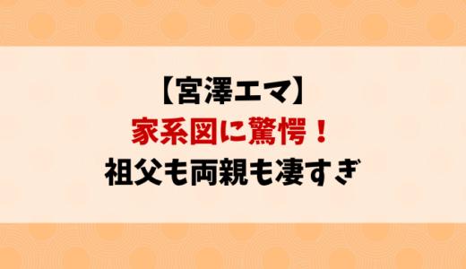 宮澤エマ家族の家系図すごい!祖父や父母が凄すぎる家族構成を紹介
