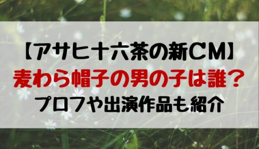 アサヒ十六茶CM男の子は誰?2021ガッキーや中村倫也と共演の子役かわいい!