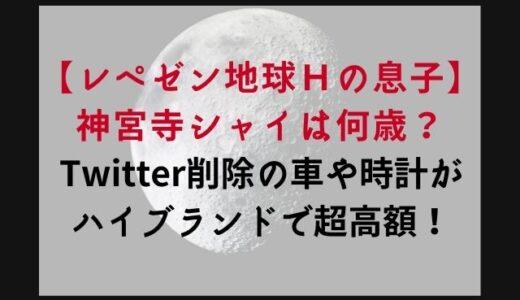 神宮寺シャイの年齢は?車や時計のブランド値段も紹介(Twitter削除画像あり)